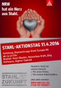 Stahl-Aktionstag 11.04. in Duisburg